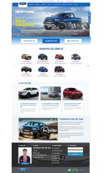 Thiết kế web giá rẻ showroom ô tô