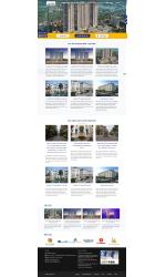 Mẫu web giá rẻ bất động sản 01