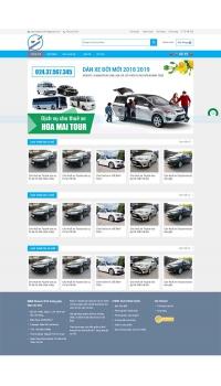 Web giá rẻ cho thuê xe du lịch
