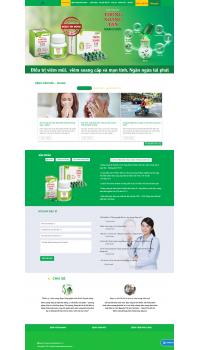 Thiết kế web giá rẻ dược phẩm