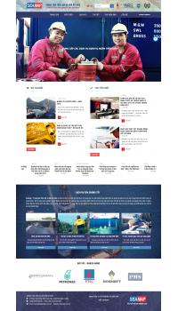 Thiết kế web giá rẻ giới thiệu doanh nghiệp