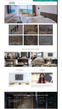 Thiết kế web giá rẻ đồ dùng khách sạn