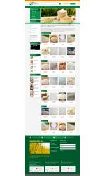 Thiết kế web giá rẻ bán gạo