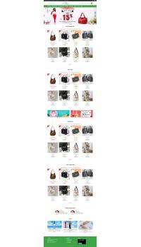 Thiết kế web giá rẻ bán túi xách