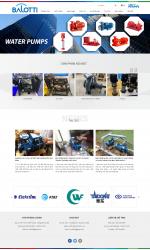 Thiết kế web giá rẻ bán máy bơm nước