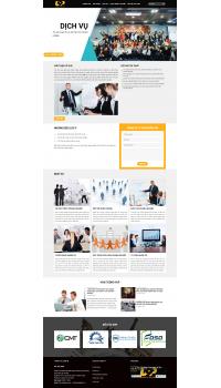 Thiết kế web giá rẻ giới thiệu công ty