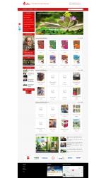 Thiết kế web giá rẻ cửa hàng sách
