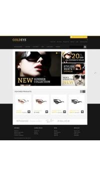 Thiết kế web giá rẻ bán mắt kính