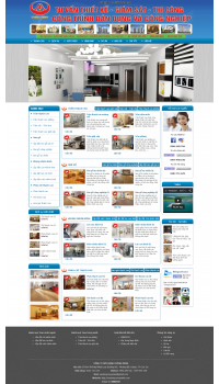 Thiết kế web giá rẻ cho ngành xây dựng