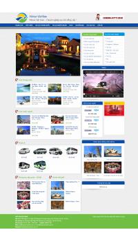 Thiết kế web giá rẻ công ty du lịch