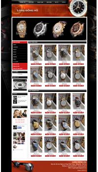 Thiết kế web giá rẻ đồng hồ