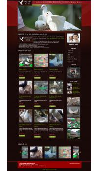 Thiết kế web giá rẻ lồng chim bồ câu