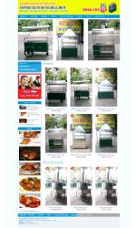 Thiết kế web giá rẻ máy quay gà vịt