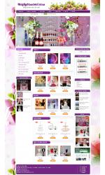 Thiết kế web giá rẻ phụ kiện đám cưới