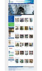 Thiết kế web giá rẻ thang máy