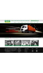 Thiết kế web giá rẻ thiết bị phụ tùng xe tải