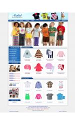 Thiết kế web giá rẻ thời trang cho bé
