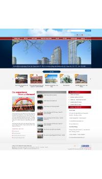 Thiết kế web giá rẻ tư vấn xây dựng nhà đất