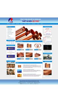 Thiết kế web giá rẻ bán đồ đồng
