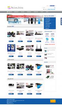 Thiết kế web giá rẻ bán máy ảnh