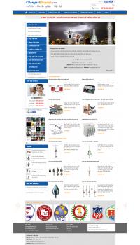 Thiết kế web giá rẻ cột chống sét
