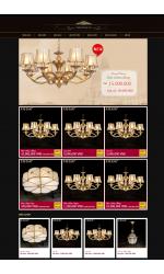 Thiết kế web giá rẻ đèn trang trí