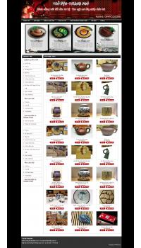 Thiết kế web giá rẻ quán trà, phòng trà
