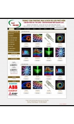 Thiết kế web giá rẻ thiết bị đèn LED