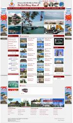 Web giá rẻ du lịch cao cấp