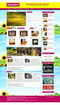 Thiết kế web giá rẻ bán mật ong