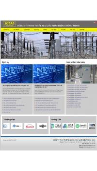 Thiết kế web giá rẻ thủy điện
