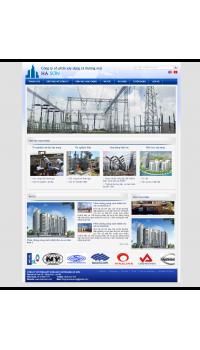Web giá rẻ xây dựng công trình