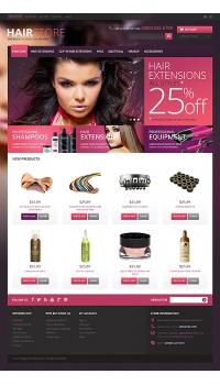 Thiết kế web giá rẻ salon tóc, thời trang tóc