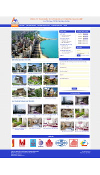 Thiết kế web giá rẻ bất động sản