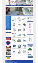 Thiết kế web giá rẻ thiết bị y tế