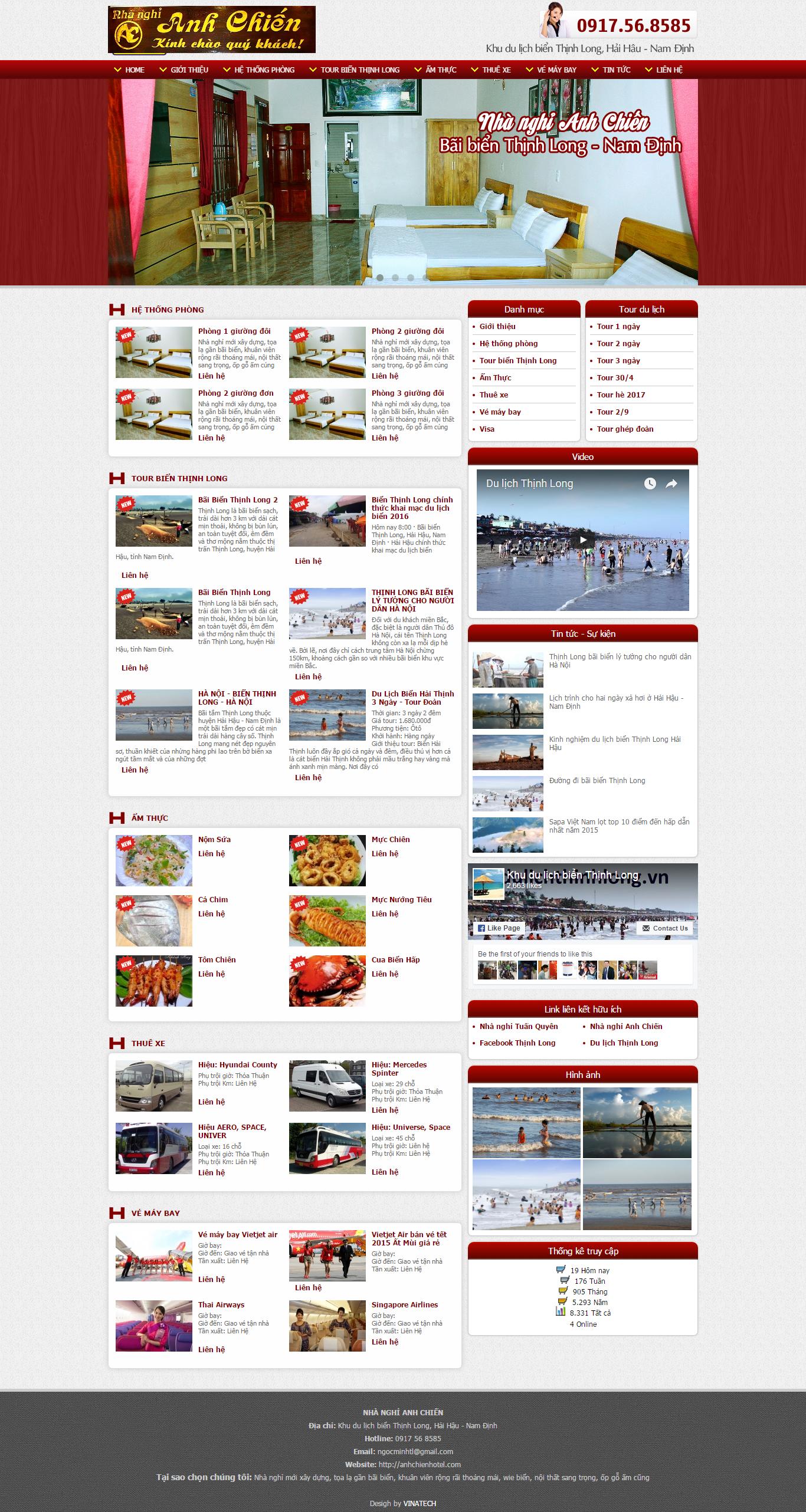 Web giá rẻ du lịch 01