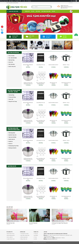 thiết kế web giá rẻ bán đồ lưu niệm